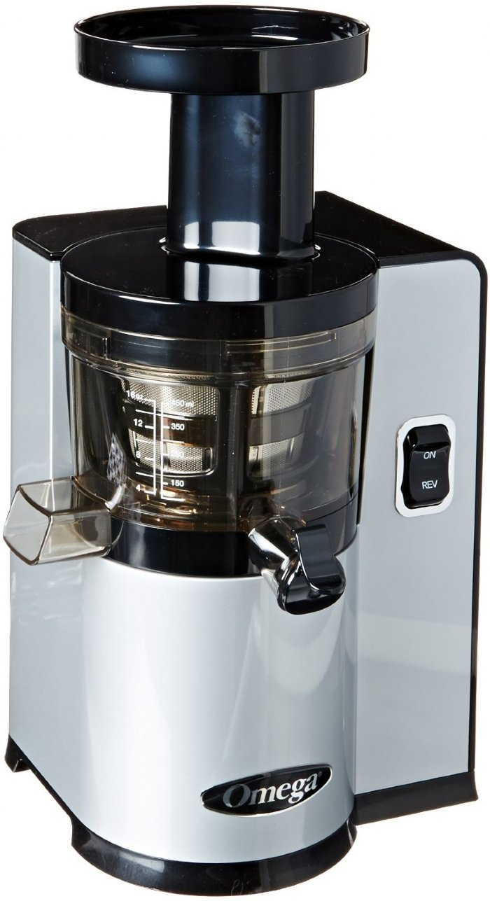 Slow Juicer Vs Extractor : Omega vSJ843 vertical Juicing System Juicer vSJ843QS Silver in Canada